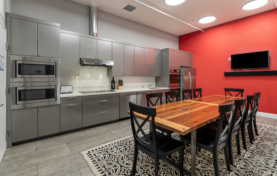 The Dorel Apartments - Common Kitchen